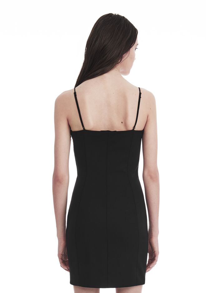 ALEXANDER WANG TAILORED MINI DRESS WITH  BARTACK DETAIL Short dress Adult 12_n_r