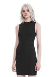 T by ALEXANDER WANG COMPACT STRETCH MINI DRESS Short dress Adult 8_n_a