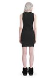 T by ALEXANDER WANG COMPACT STRETCH MINI DRESS Short dress Adult 8_n_r