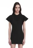 ALEXANDER WANG HYBRID SWEATSHIRT MINI DRESS Short dress Adult 8_n_r