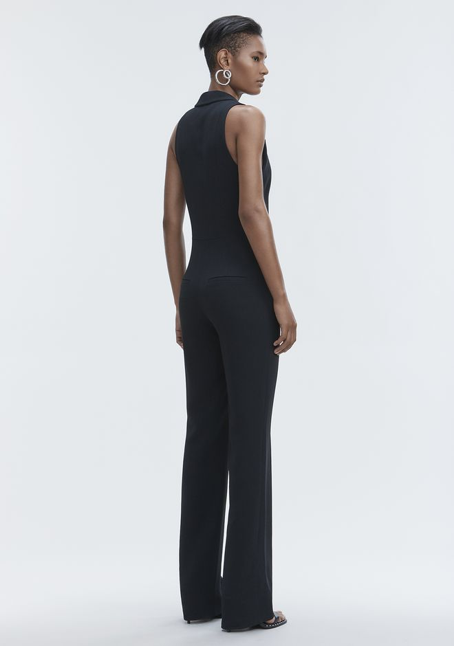 ALEXANDER WANG SPLIT LAPEL JUMPSUIT Long dress Adult 12_n_e