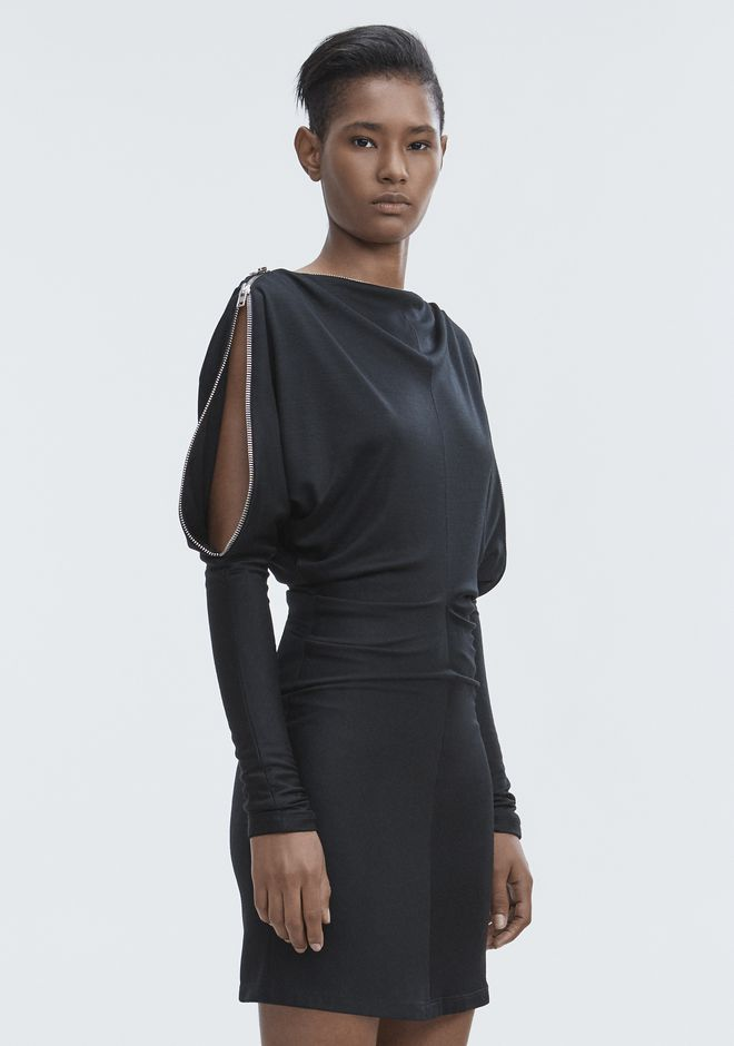 ALEXANDER WANG DOLMAN SLEEVE DRESS 短款连衣裙 Adult 12_n_a