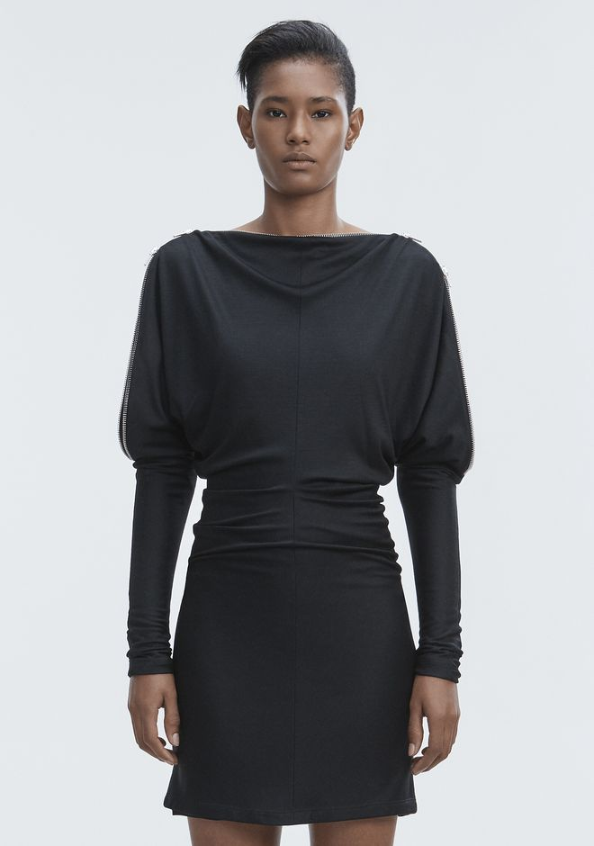 ALEXANDER WANG DOLMAN SLEEVE DRESS 短款连衣裙 Adult 12_n_d