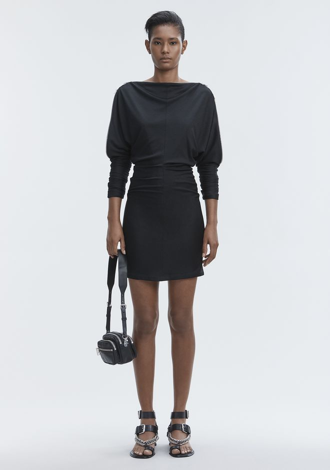 ALEXANDER WANG DOLMAN SLEEVE DRESS 短款连衣裙 Adult 12_n_f