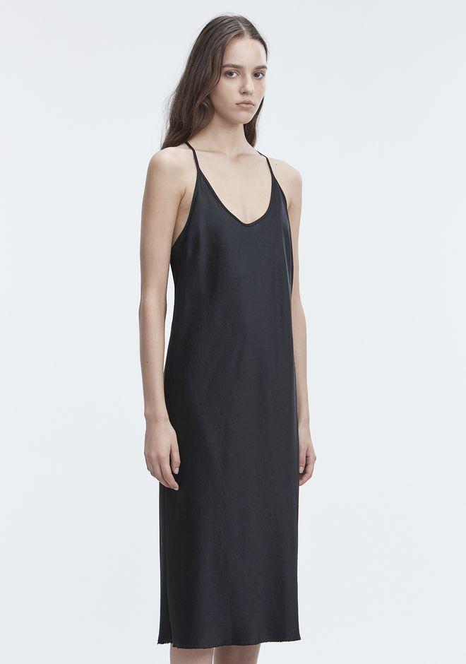 T by ALEXANDER WANG WASH & GO SLIP DRESS 3/4 length dress Adult 12_n_a