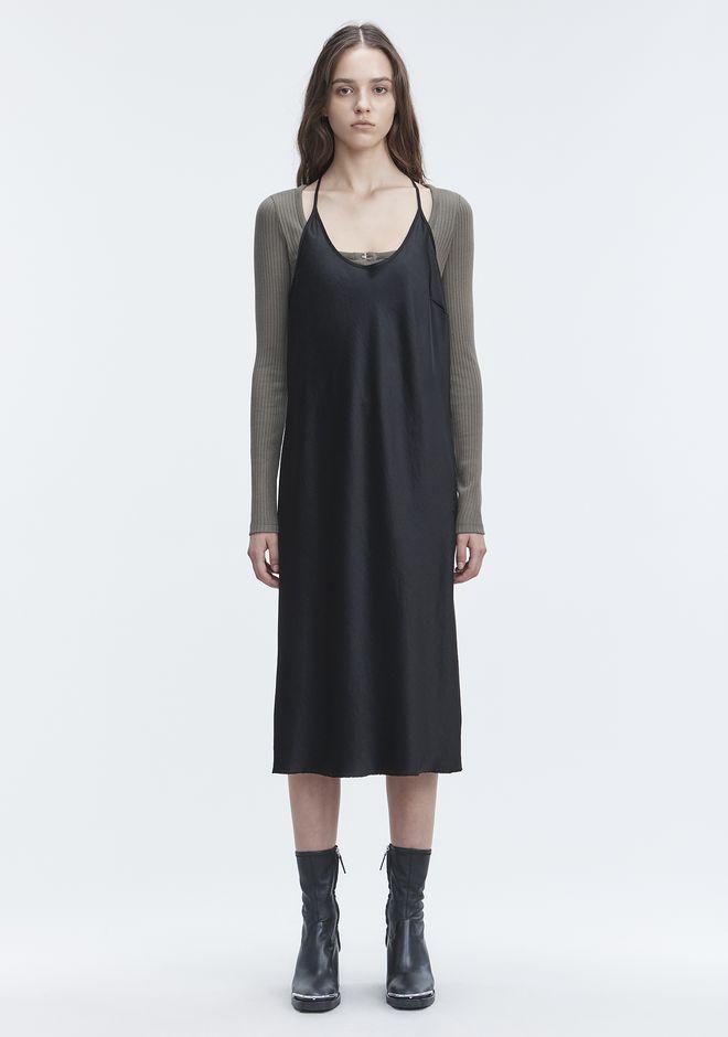 T by ALEXANDER WANG WASH & GO SLIP DRESS 3/4 length dress Adult 12_n_f