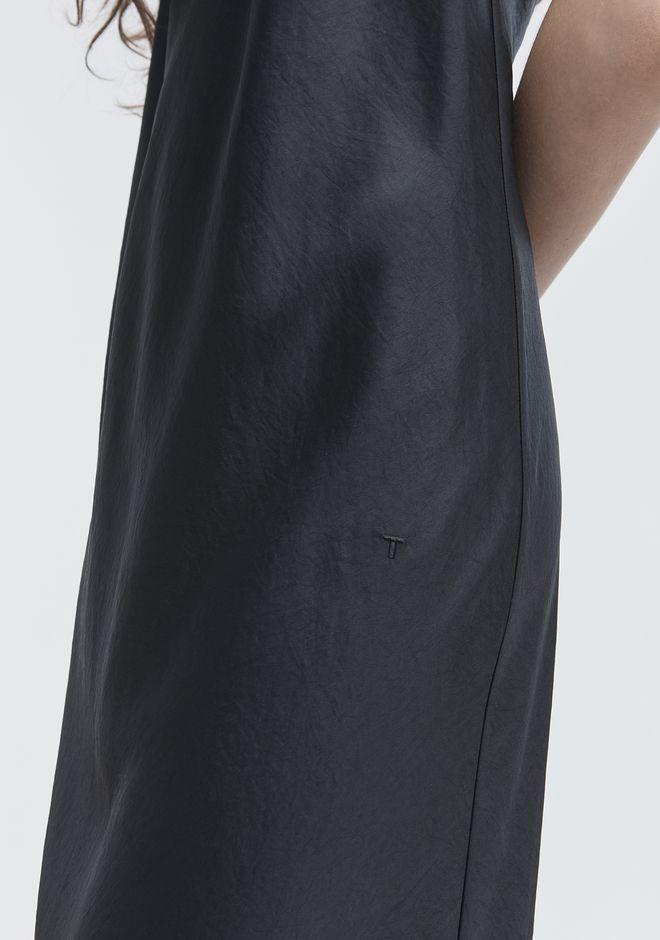 T by ALEXANDER WANG WASH & GO SLIP DRESS 3/4 length dress Adult 12_n_r