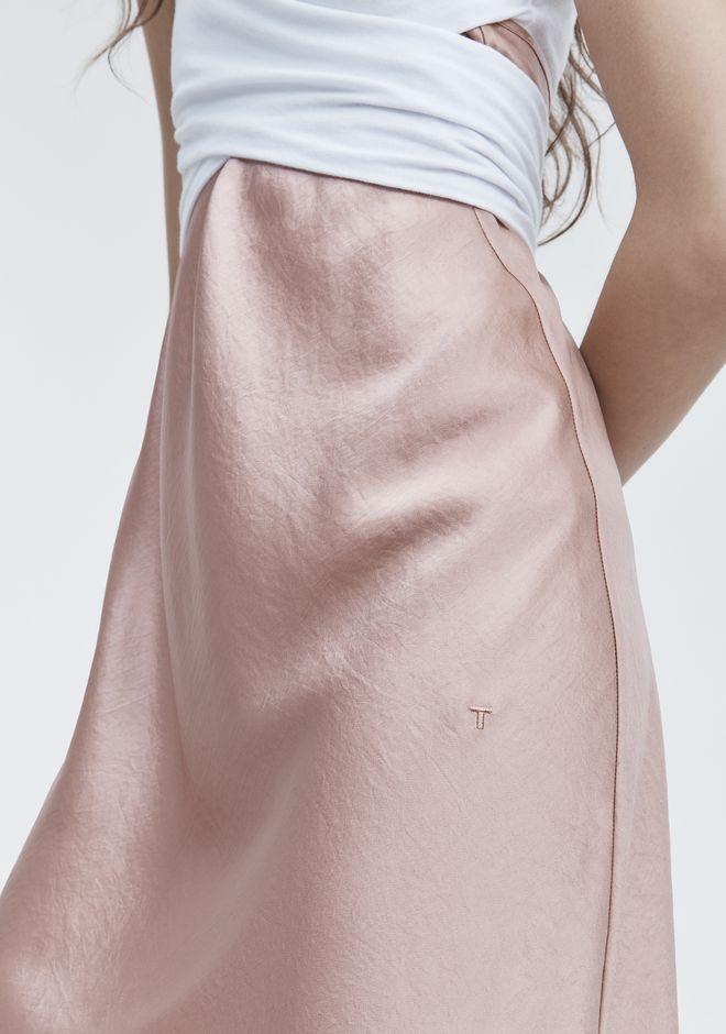 T by ALEXANDER WANG WASH & GO SLIP DRESS Vestito longuette Adult 12_n_r