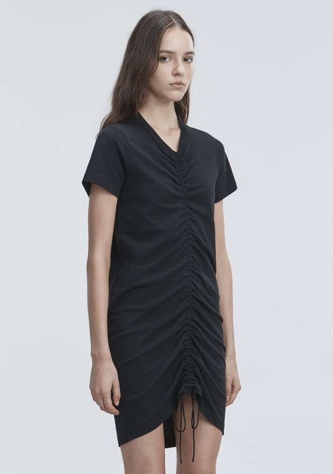T by ALEXANDER WANG GATHERED FRONT DRESS Kurzes Kleid Adult 12_n_a