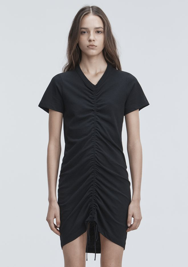 T by ALEXANDER WANG GATHERED FRONT DRESS Short dress Adult 12_n_d