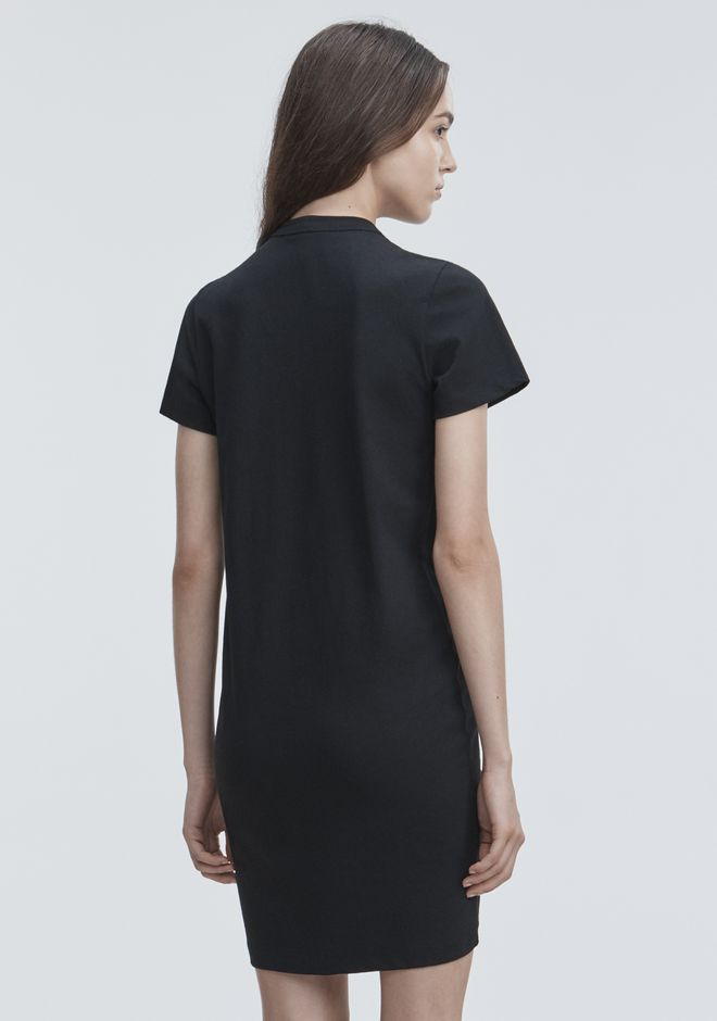 T by ALEXANDER WANG GATHERED FRONT DRESS Short dress Adult 12_n_e