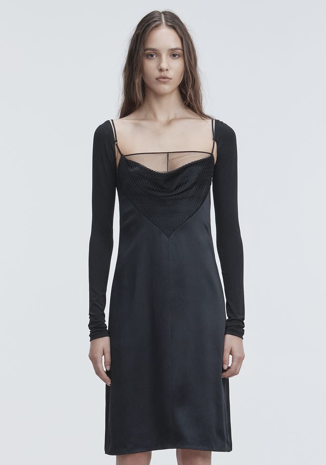 ALEXANDER WANG COWL FRONT SLIP DRESS  Long dress Adult 12_n_d