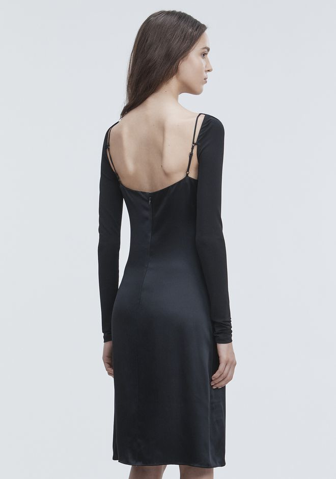 ALEXANDER WANG COWL FRONT SLIP DRESS  Long dress Adult 12_n_e