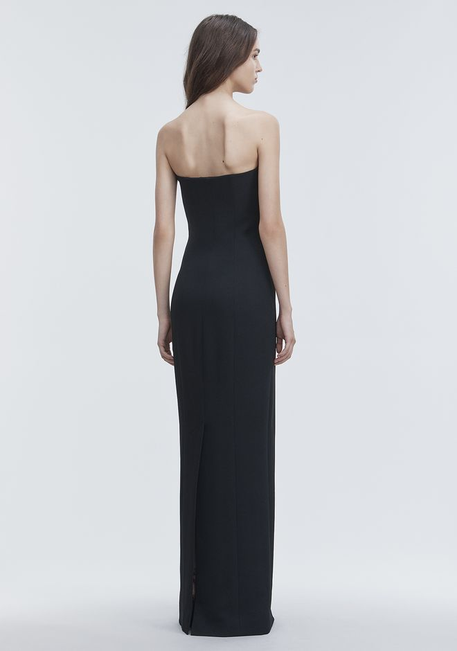 ALEXANDER WANG DECONSTRUCTED BUSTIER GOWN  Long dress Adult 12_n_e
