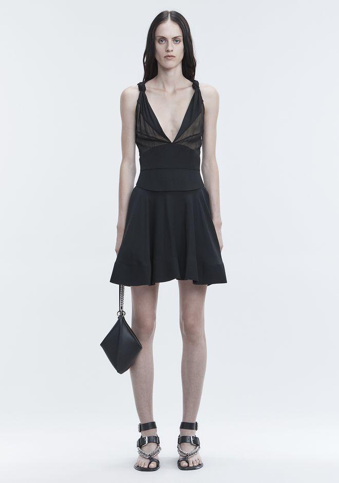ALEXANDER WANG FLARED MINI DRESS 롱 드레스 Adult 12_n_f