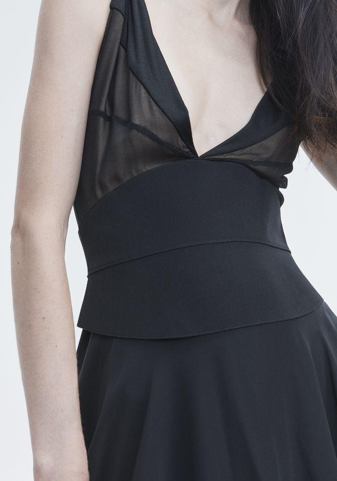ALEXANDER WANG FLARED MINI DRESS 롱 드레스 Adult 12_n_r