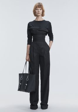 DECONSTRUCTED POPLIN JUMPSUIT