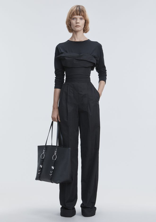Deconstructed Poplin Jumpsuit by Alexander Wang