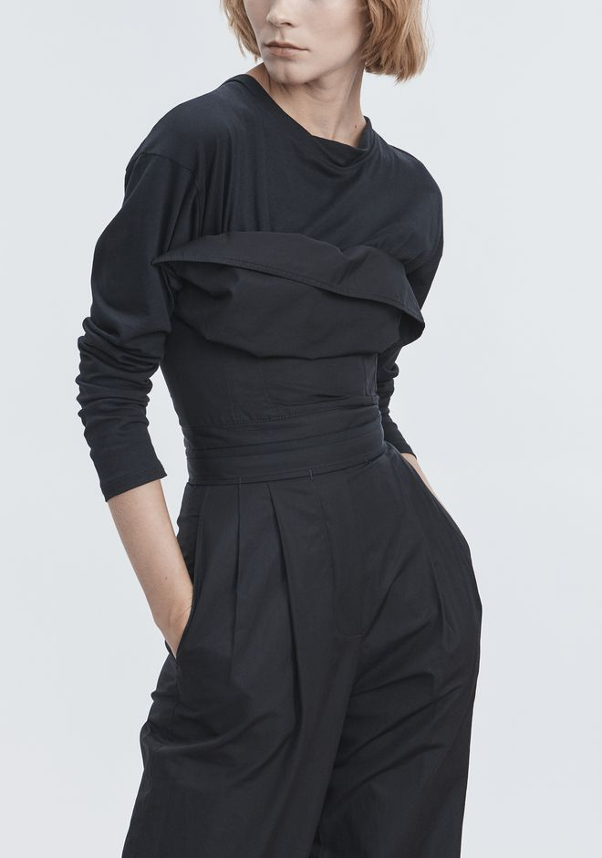 ALEXANDER WANG DECONSTRUCTED POPLIN JUMPSUIT  Long dress Adult 12_n_r