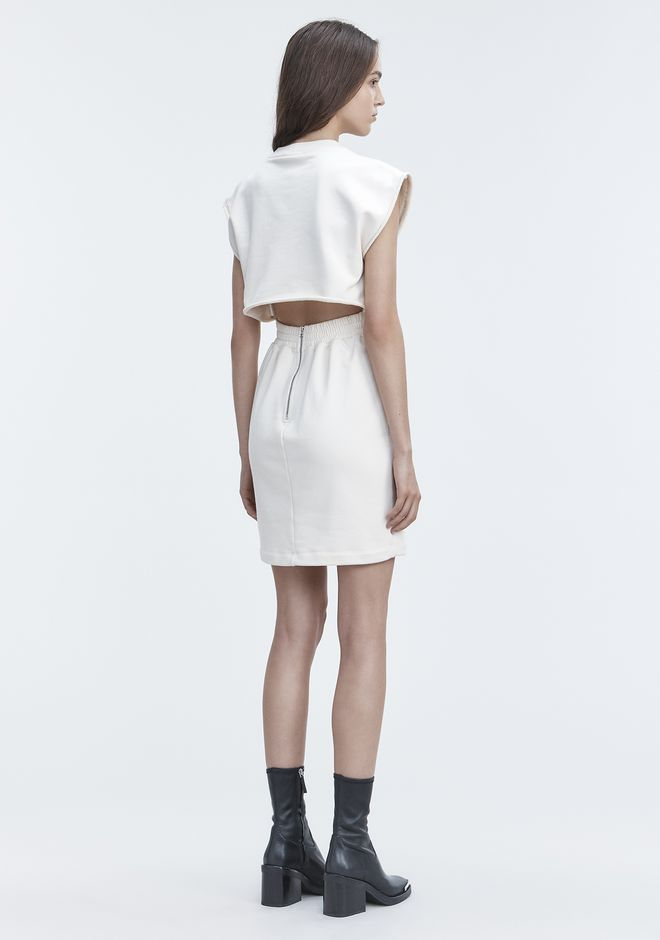 T by ALEXANDER WANG CINCH WAIST DRESS Short Dress Adult 12_n_f