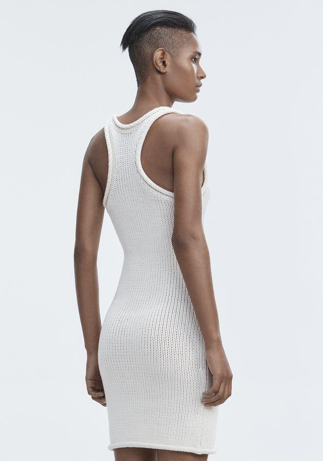 T by ALEXANDER WANG Short Dresses KNIT TANK DRESS