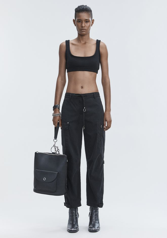 T by ALEXANDER WANG PANTS Women CARGO PANTS