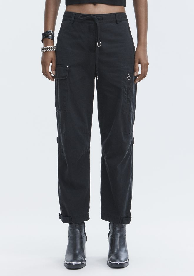 T by ALEXANDER WANG CARGO PANTS PANTS Adult 12_n_d
