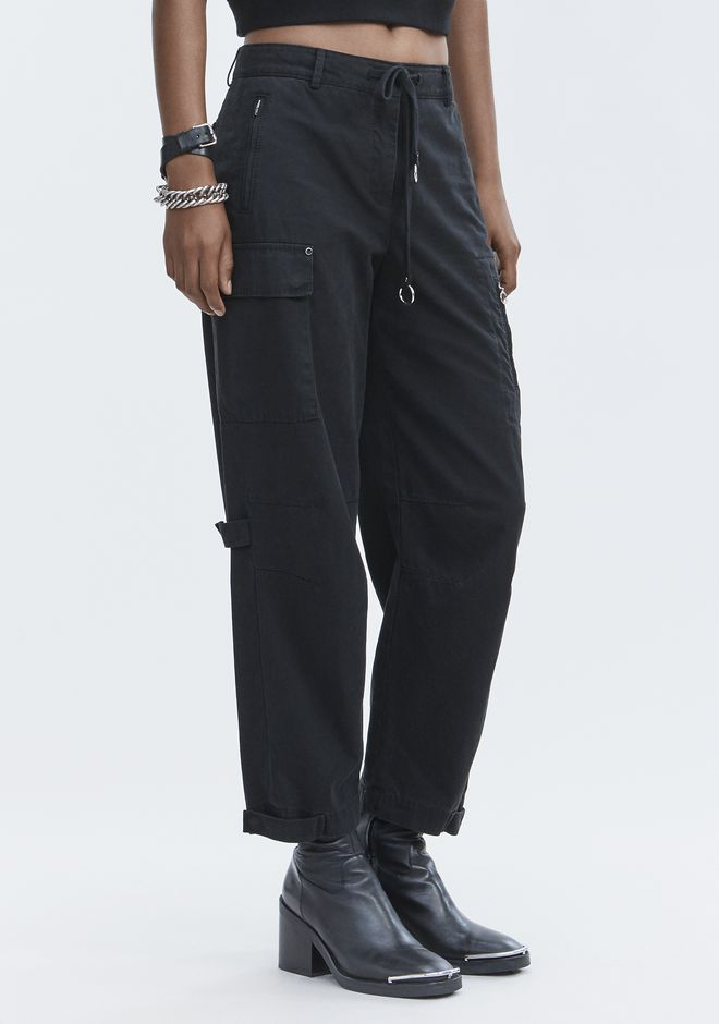 T by ALEXANDER WANG CARGO PANTS PANTS Adult 12_n_e
