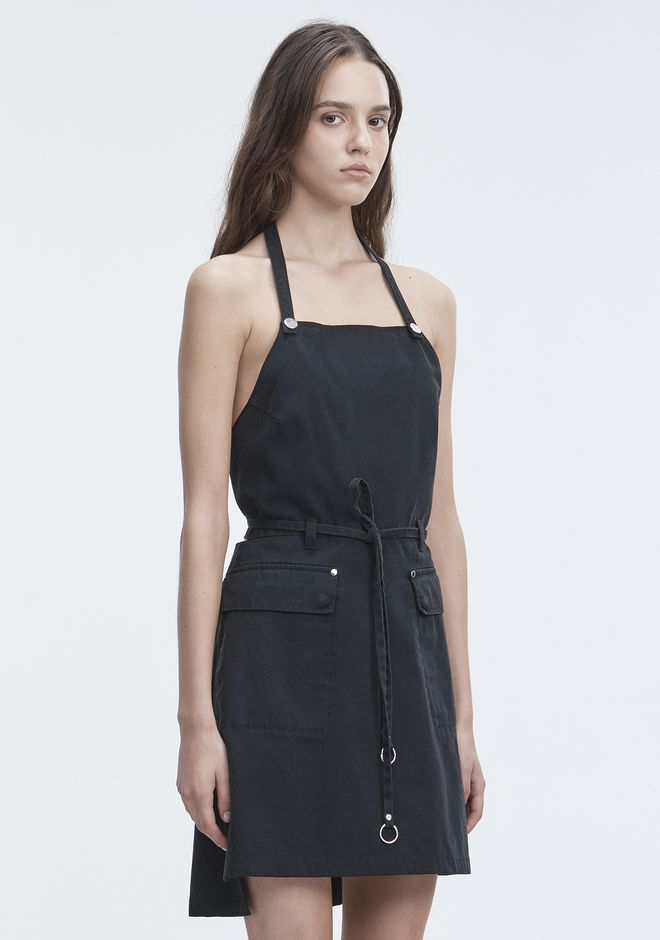 T by ALEXANDER WANG APRON DRESS Short dress Adult 12_n_a