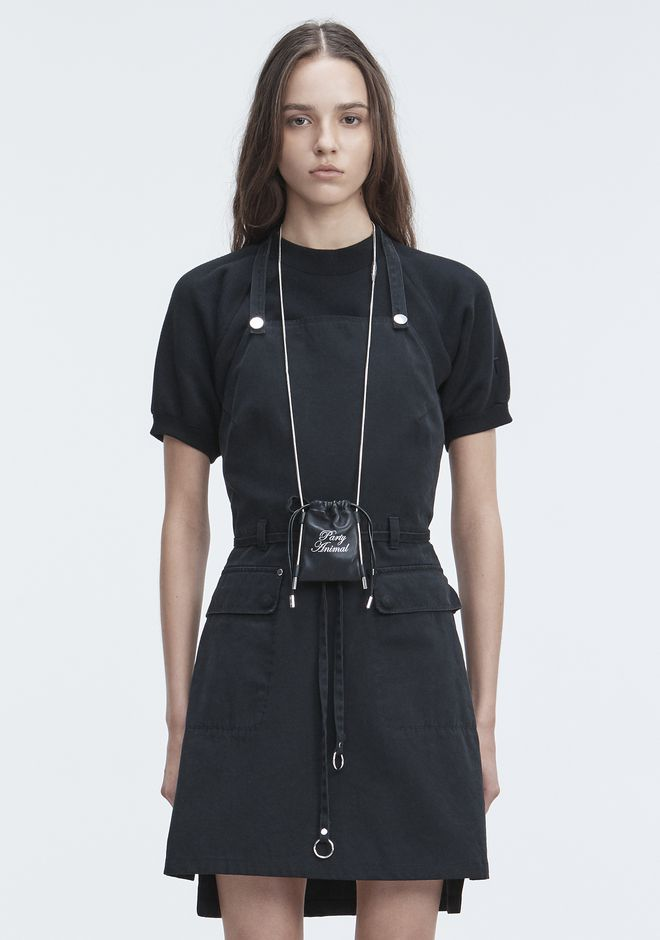 T by ALEXANDER WANG APRON DRESS Short dress Adult 12_n_d