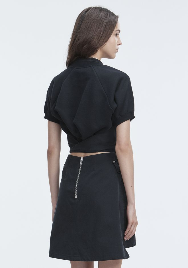 T by ALEXANDER WANG APRON DRESS Kurzes Kleid Adult 12_n_e