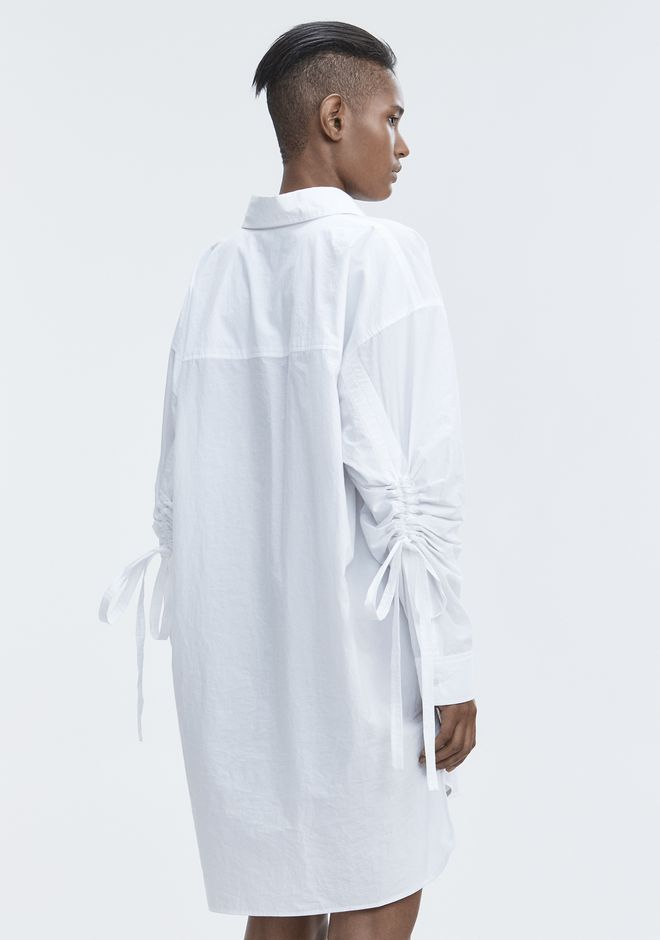 T by ALEXANDER WANG LONG SLEEVE SHIRTDRESS  短款连衣裙 Adult 12_n_a