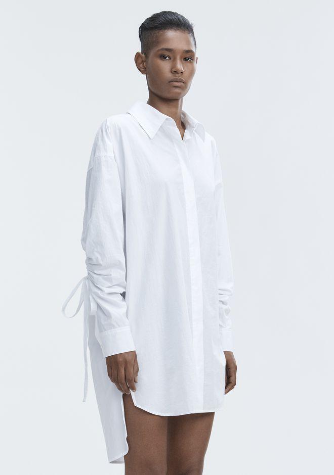T by ALEXANDER WANG LONG SLEEVE SHIRTDRESS  短款连衣裙 Adult 12_n_e