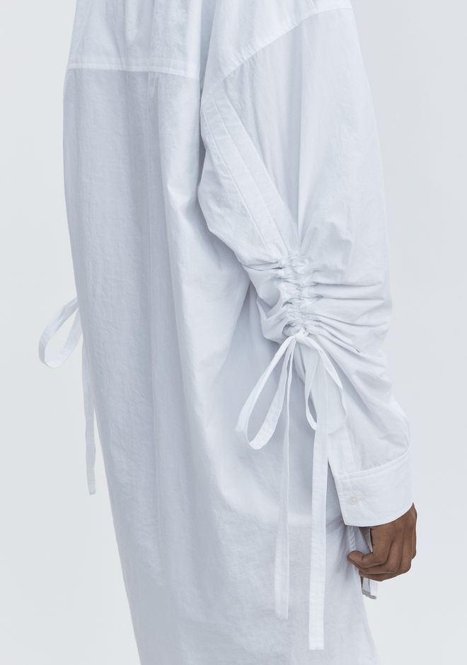 T by ALEXANDER WANG LONG SLEEVE SHIRTDRESS  短款连衣裙 Adult 12_n_r