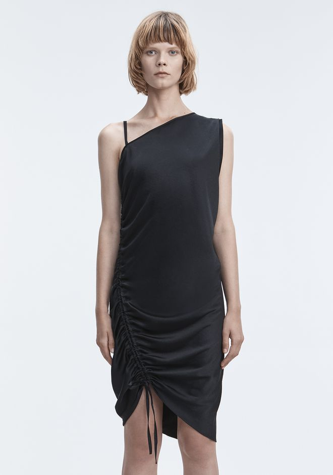 T by ALEXANDER WANG RUCHED DRESS  Kurzes Kleid Adult 12_n_d