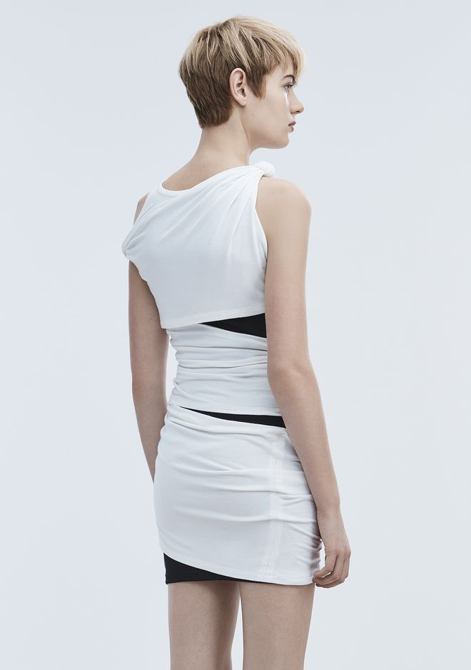 ALEXANDER WANG DECONSTRUCTED TANK DRESS Kurzes Kleid Adult 12_n_e