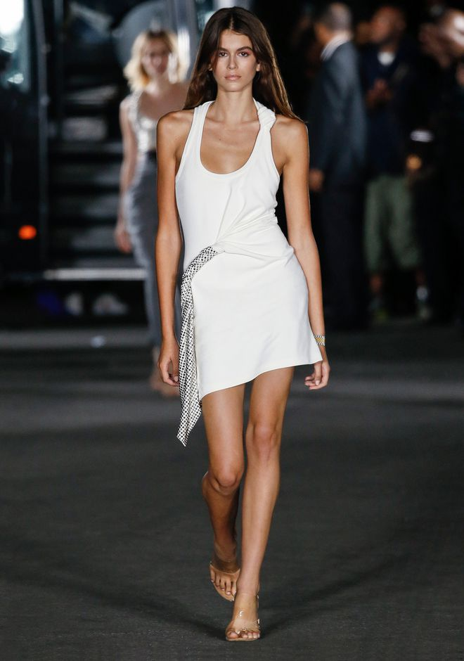 ALEXANDER WANG DECONSTRUCTED TANK DRESS 短款连衣裙 Adult 12_n_a