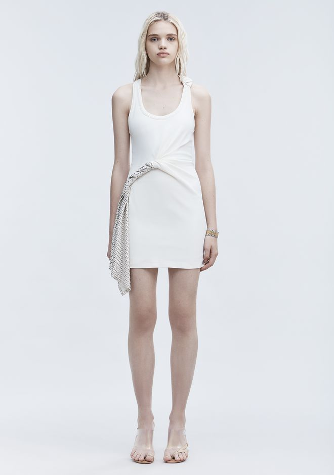 ALEXANDER WANG DECONSTRUCTED TANK DRESS Short Dress Adult 12_n_f