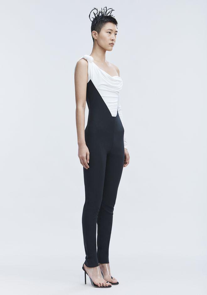 ALEXANDER WANG ASYMMETRIC JUMPSUIT Long dress Adult 12_n_d