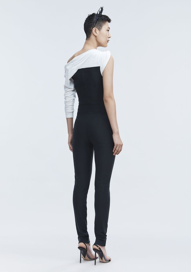 ALEXANDER WANG ASYMMETRIC JUMPSUIT Long dress Adult 12_n_e