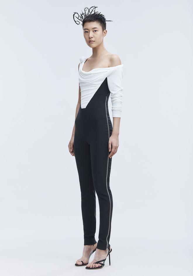 ALEXANDER WANG ASYMMETRIC JUMPSUIT Long dress Adult 12_n_f