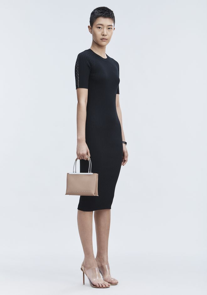 ALEXANDER WANG 3/4 Length dresses Women PIERCED TEE DRESS