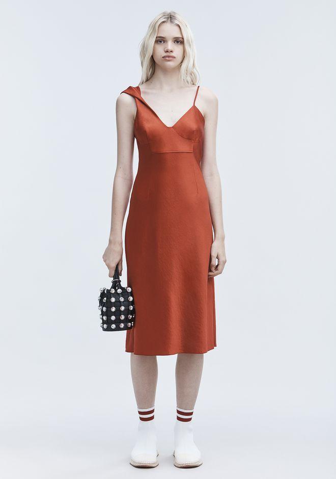 T by ALEXANDER WANG Long dresses WASH & GO SLIP DRESS