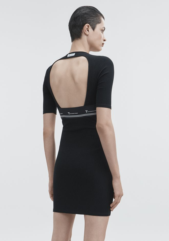 T by ALEXANDER WANG CUT OUT DRESS KNIT DRESS Adult 12_n_d