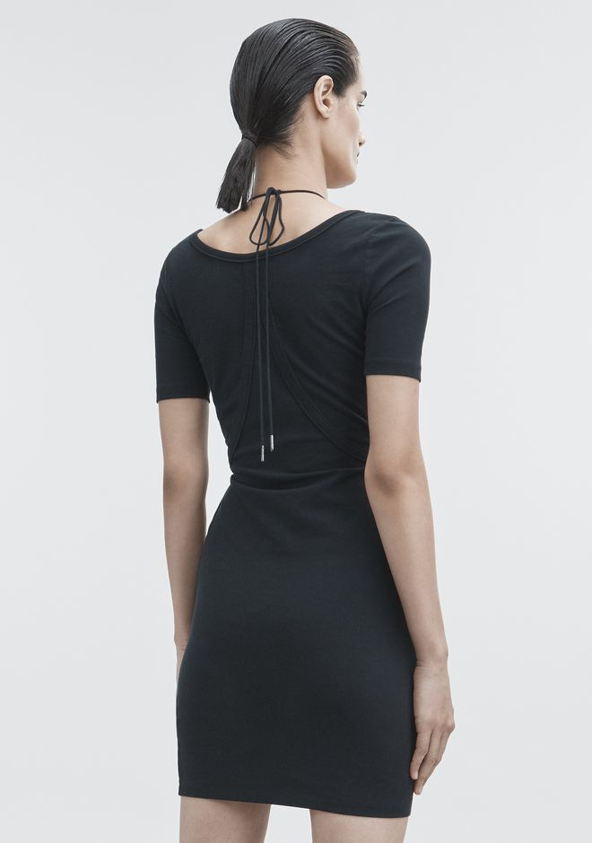 T by ALEXANDER WANG SHORT SLEEVE DRESS ミニワンピース・ドレス Adult 12_n_e