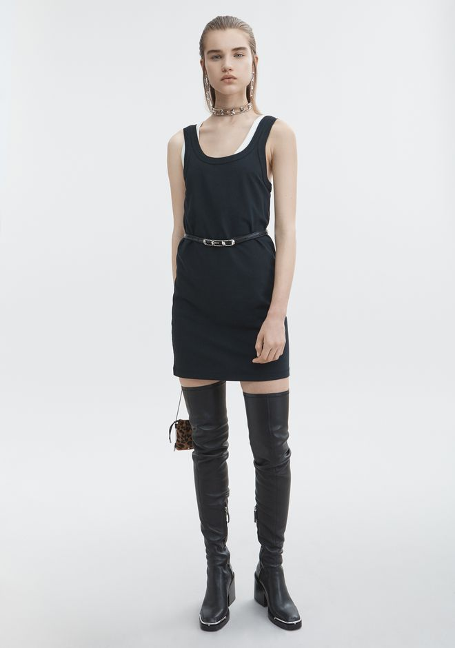 T by ALEXANDER WANG new-arrivals-t-by-alexander-wang-woman EXCLUSIVE TANK DRESS