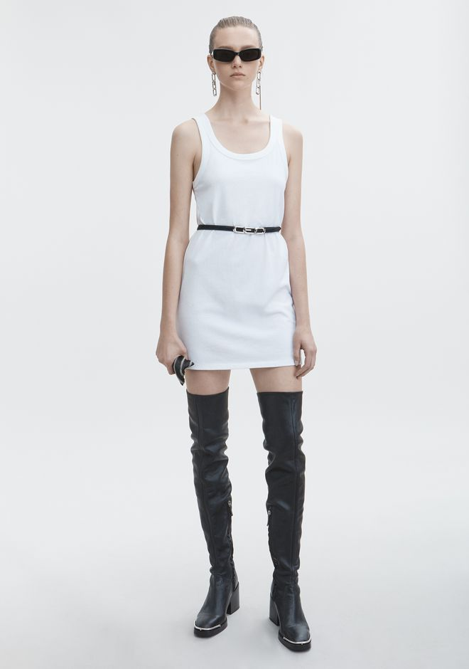 T by ALEXANDER WANG EXCLUSIVE TANK DRESS Short dress Adult 12_n_f