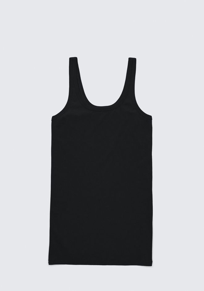 T by ALEXANDER WANG EXCLUSIVE TANK DRESS Short Dress Adult 12_n_a