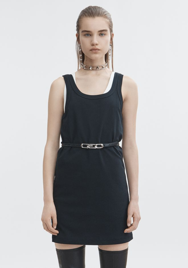 T by ALEXANDER WANG EXCLUSIVE TANK DRESS Kurzes Kleid Adult 12_n_d