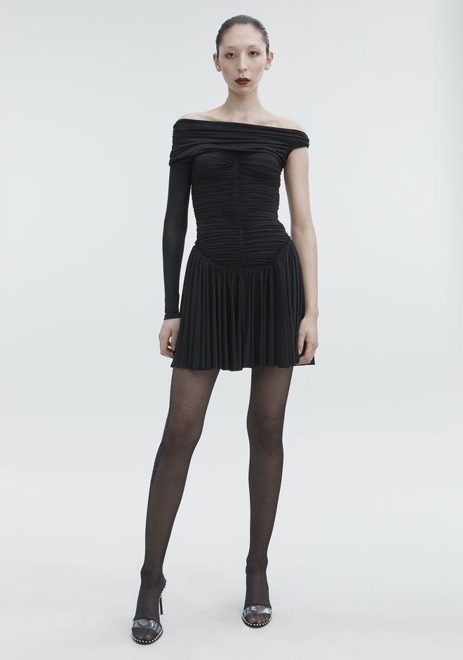 ALEXANDER WANG new-arrivals RUCHED MINI DRESS